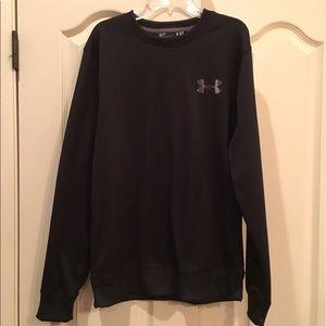 UNDER ARMOUR Men's Black Sweatshirt size Small